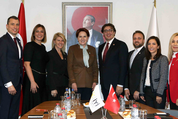 Meeting With İYİ Party President Ms. Meral Akşener